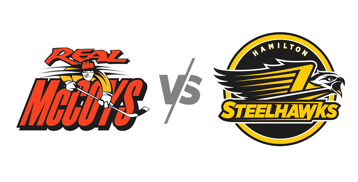 Dundas Real McCoys vs Hamilton Steelhawks