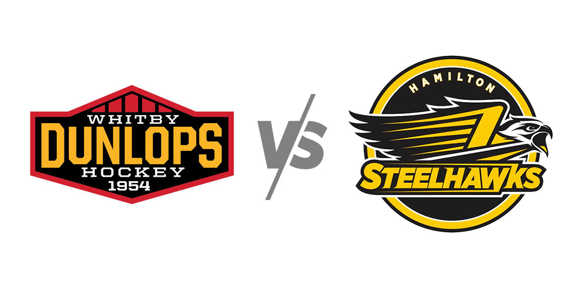 Whitby Dunlops vs Hamilton Steelhawks