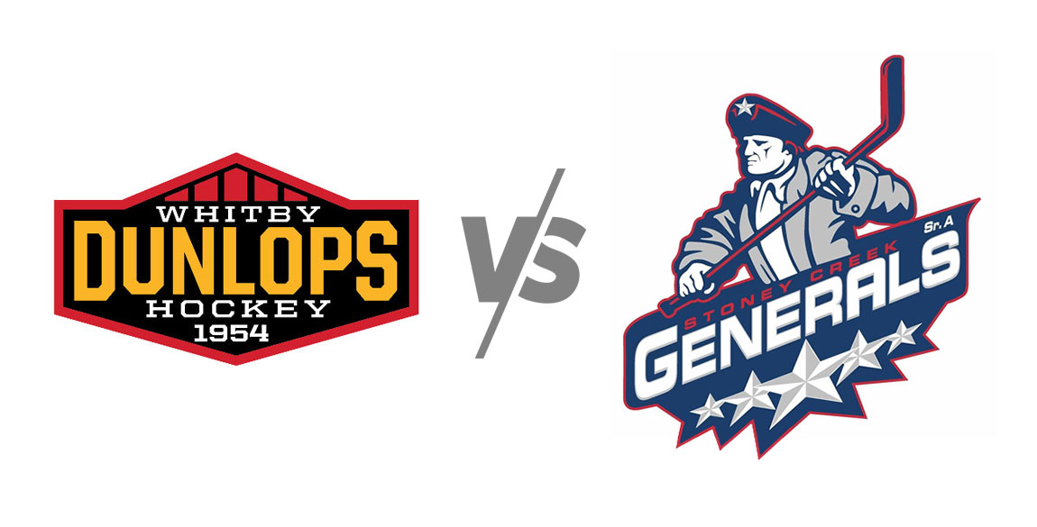 Whitby Dunlops vs Stoney Creek Generals