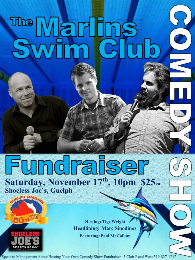 Guelph Marlins Comedy Show Fundraiser