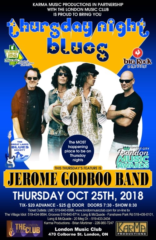 Jerome Godboo Band @ LMC!!!