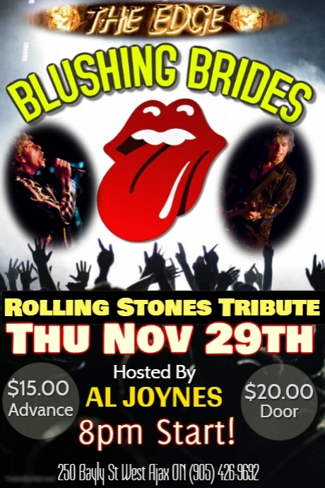 Rolling Stones Tribute featuring