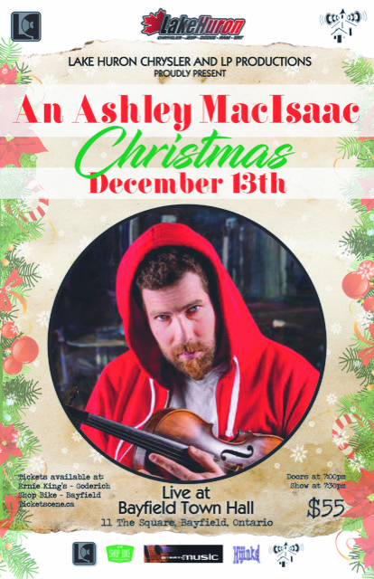 Ashley MacIsaac Christmas with special guests