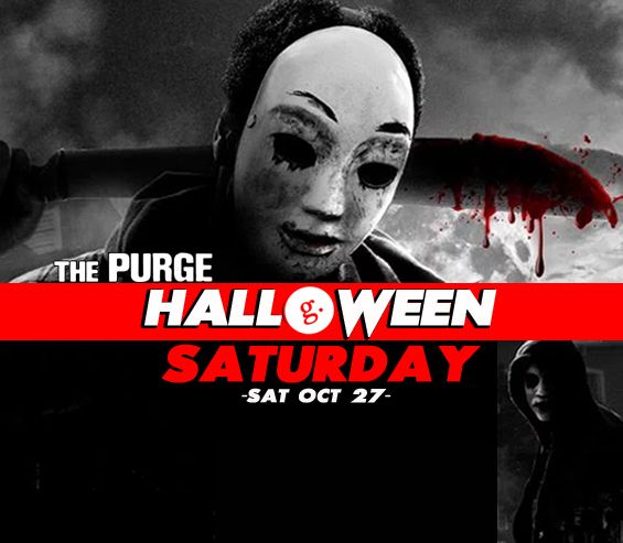 Purge Halloween Saturday at Gord's