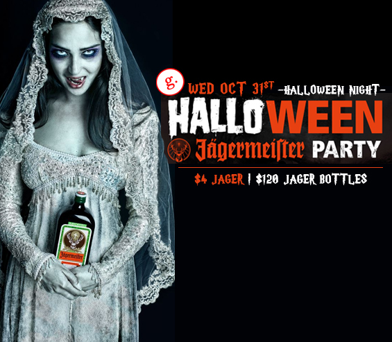 Official Jagermeister Halloween Night at Gords