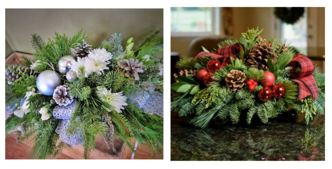 Winter Centerpiece *Floral Arrangement Workshop*