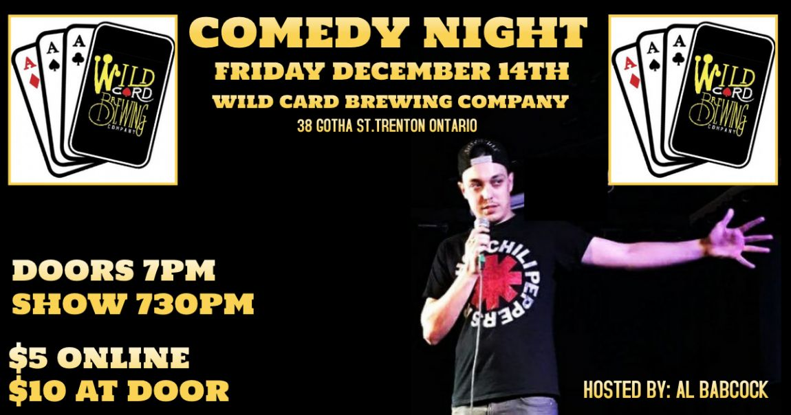 Comedy Night @ Wild Card Brewing Company