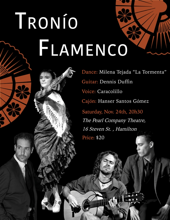 An AFTERNOON of FLAMENCO PASSION! Milena Tejada