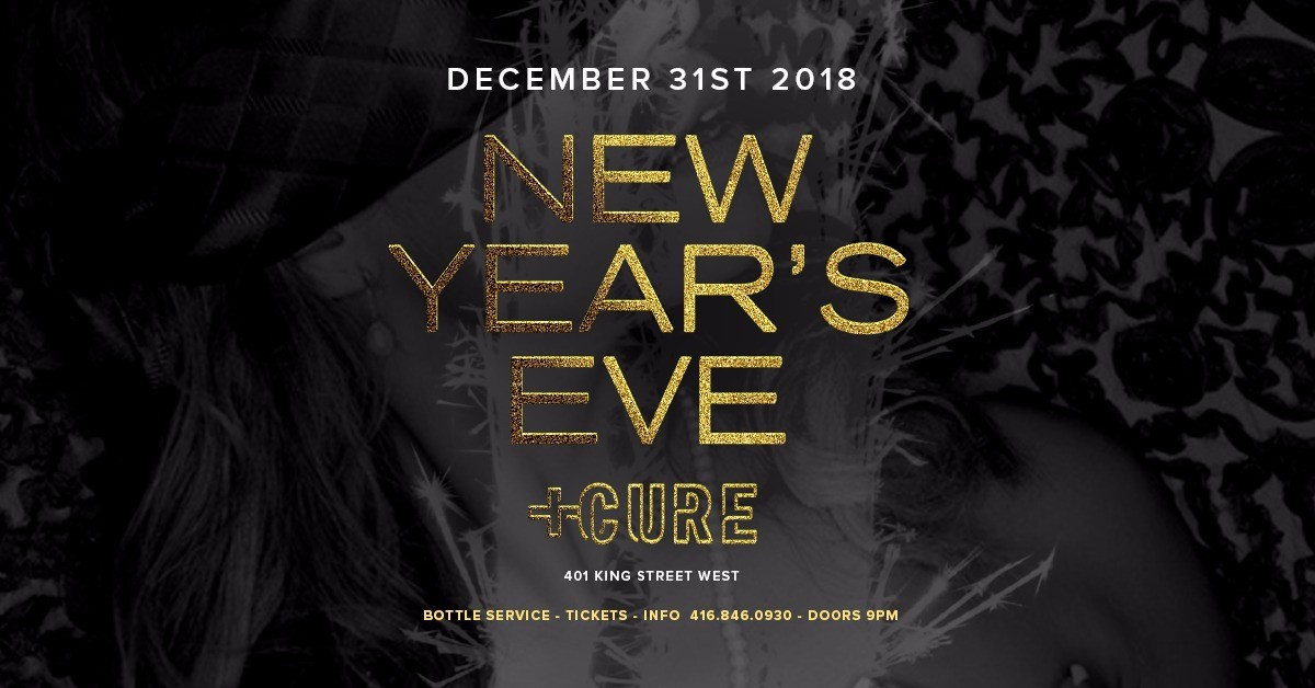 NEW YEARS EVE INSIDE CURE NIGHTCLUB