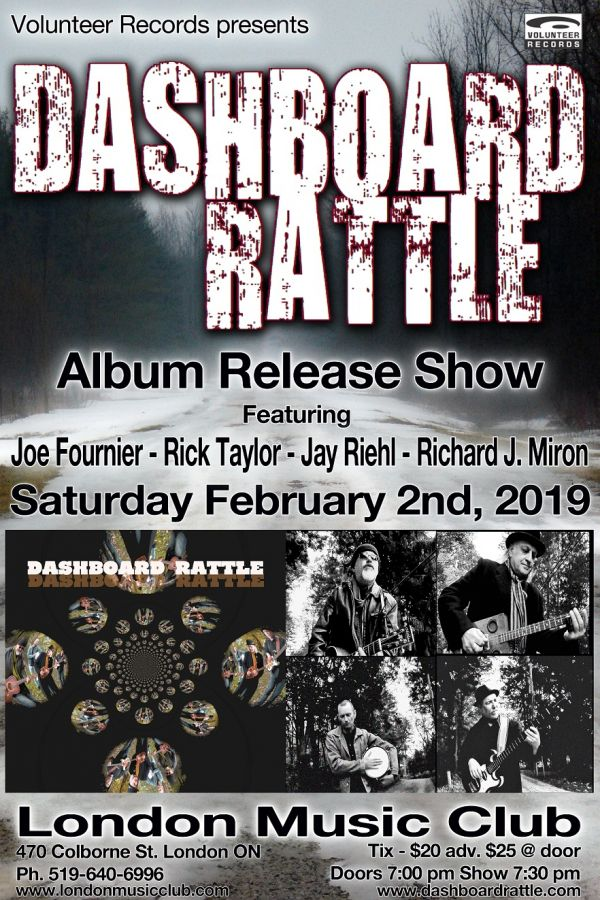 DASHBOARD RATTLE ALBUM RELEASE SHOW @ the LMC!!!