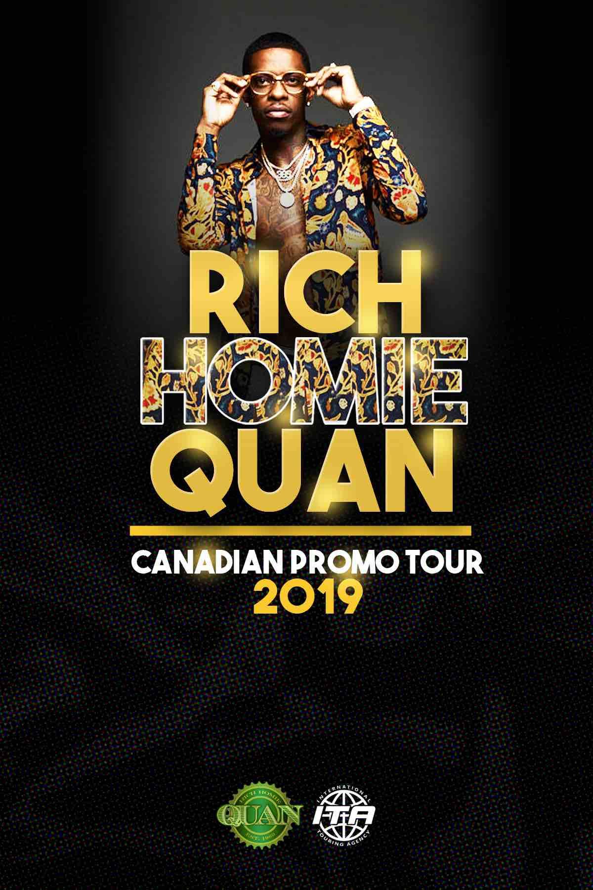 Rich Homie Quan Live In Ottawa (Mar 16) -