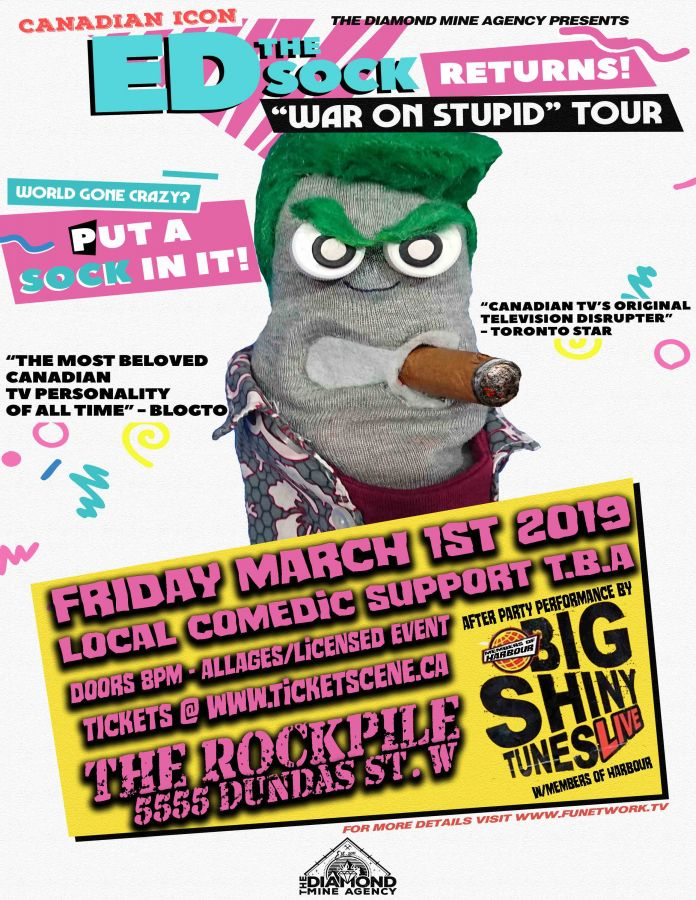 ED The Sock Live In Toronto March 1st