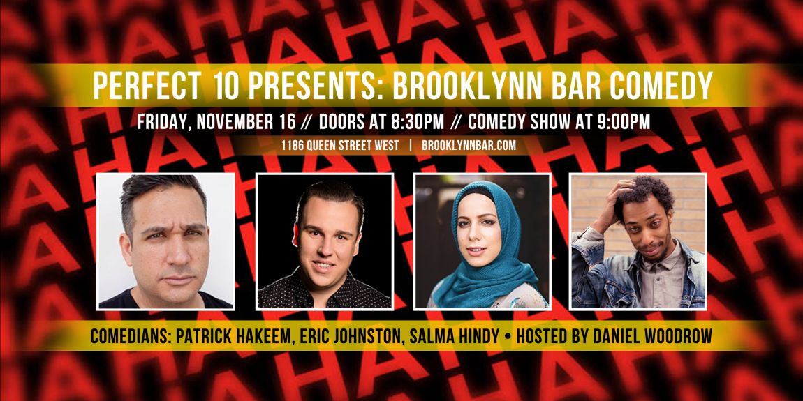 Perfect 10 Presents: Brooklynn Bar Comedy