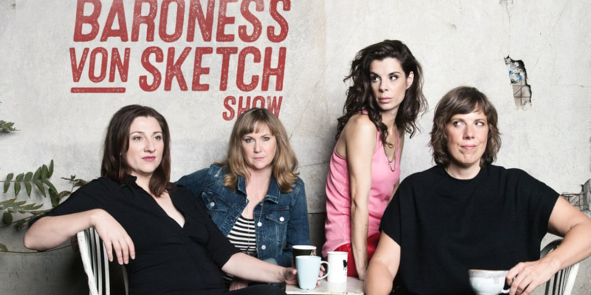 Baroness Von Sketch: in conversation with Jenn + Aurora