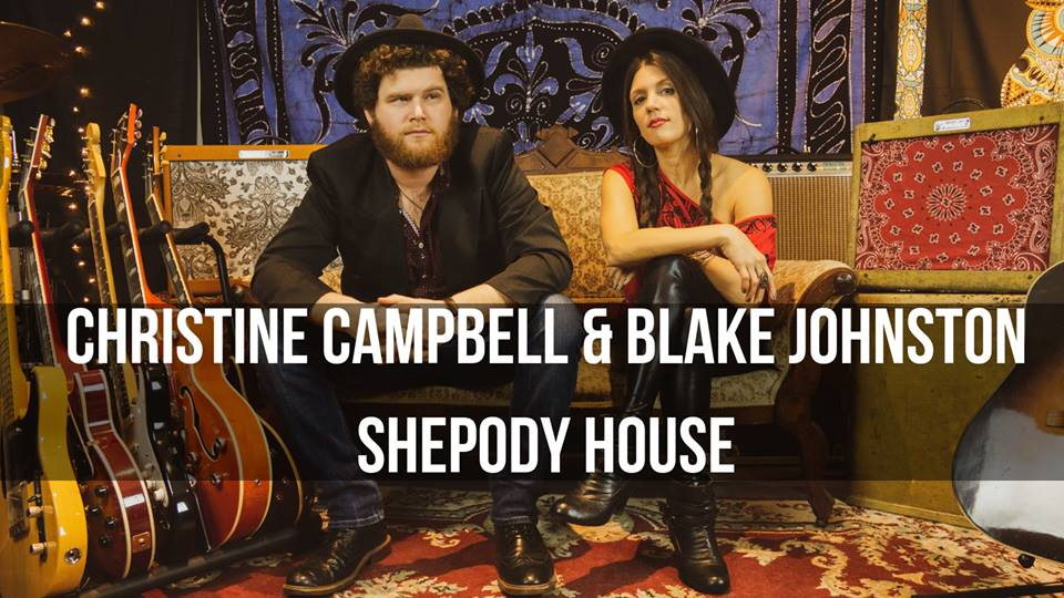 Christine Campbell and Blake Johnston, Shepody House