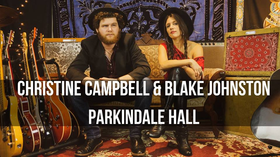 Christine Campbell and Blake Johnston, Parkindale Hall