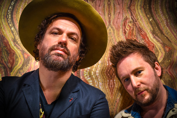 Michael Glabicki of Rusted Root with Dirk Miller and Guest