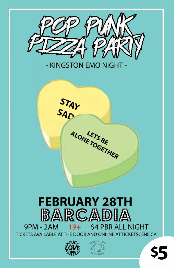 Pop Punk Pizza Party 2 (Kingston Emo Night)