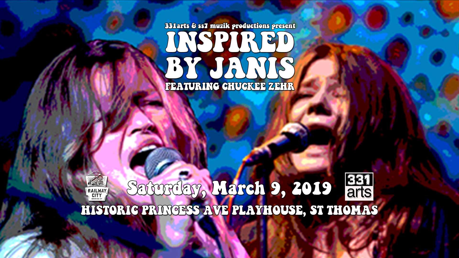 Inspired by Janis featuring Chuckee Zehr