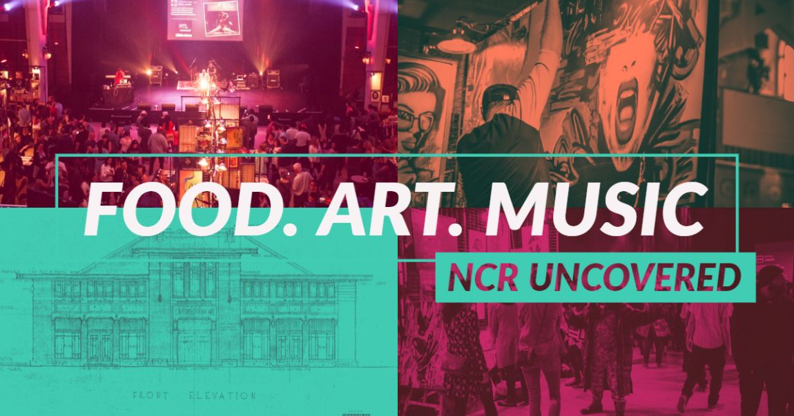 NCR Uncovered Art & Music Gala at Lansdowne Park