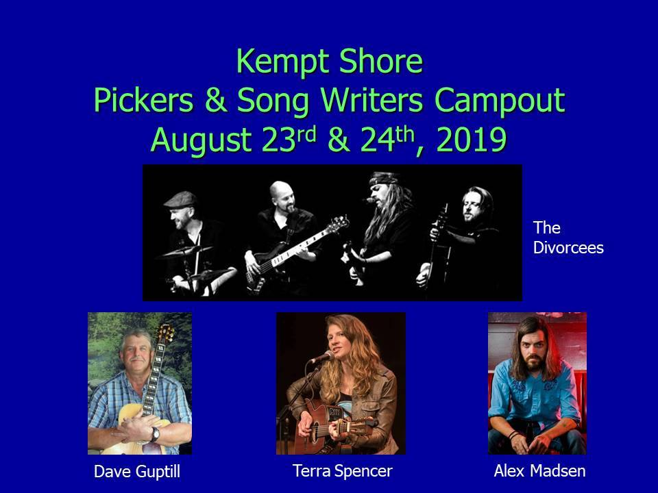 Kempt Shore Pickers & Songwriters Campout Weekend Pass