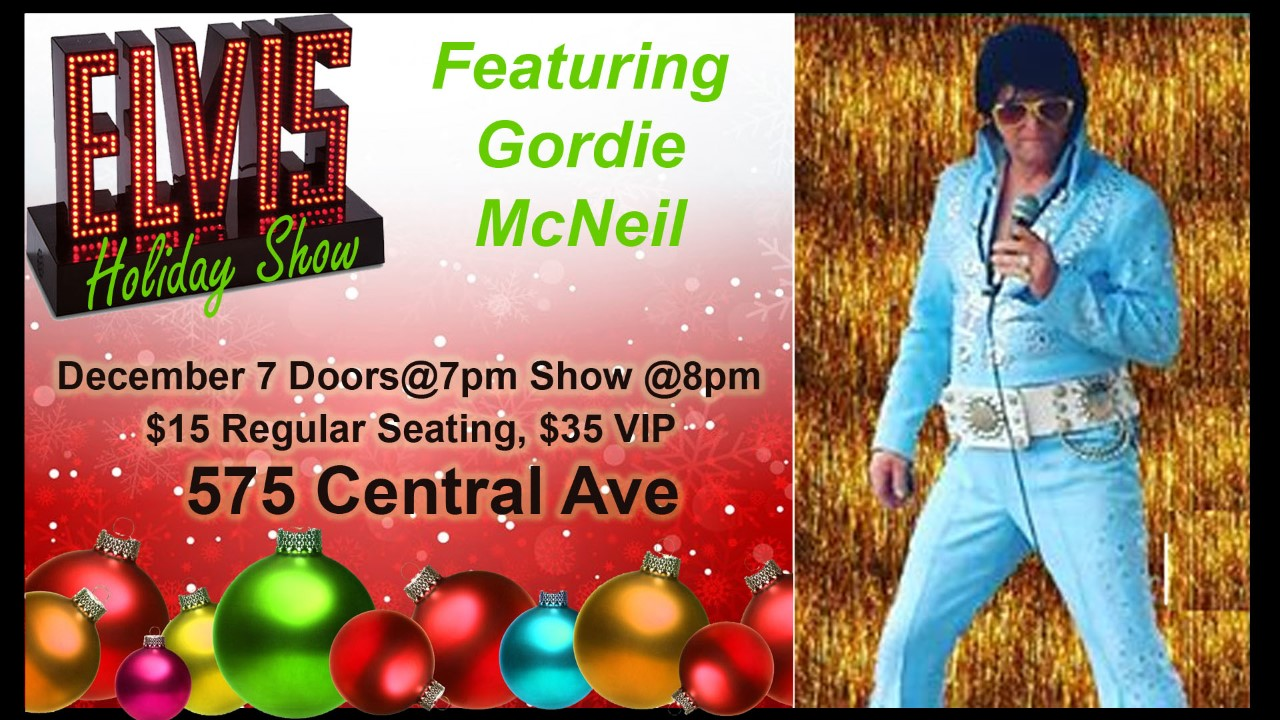 GORDIE MCNEIL - AWARD WINNING ELVIS TRIBUTE
