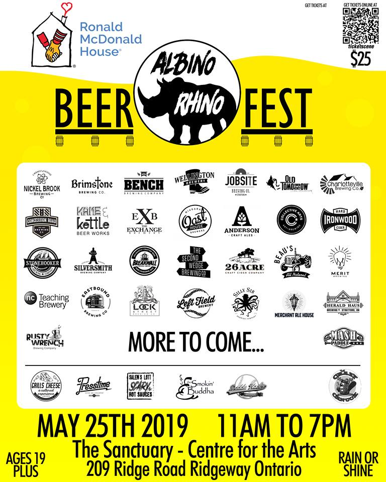 The Albino Rhino Beer Festival 2019