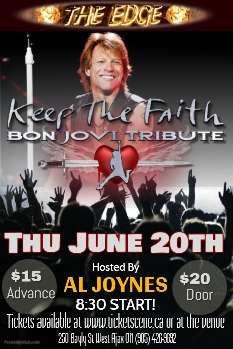 KEEP THE FAITH (Bon Jovi Tribute)