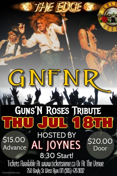 GNFNR (Guns'N Roses Tribute)