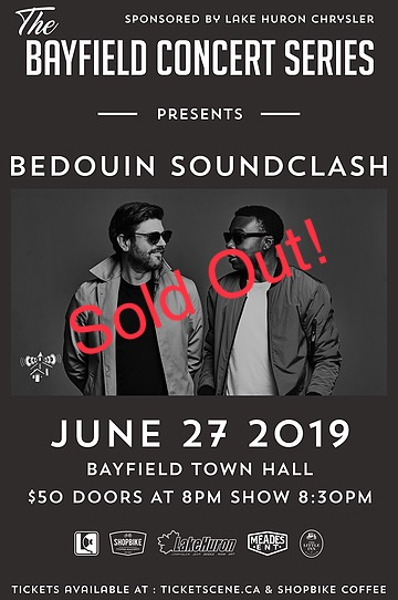 Bedouin Soundclash Live at the Bayfield Concert Series – A special acoustic duo performance with Jay Malinowski & Eon Sinclair