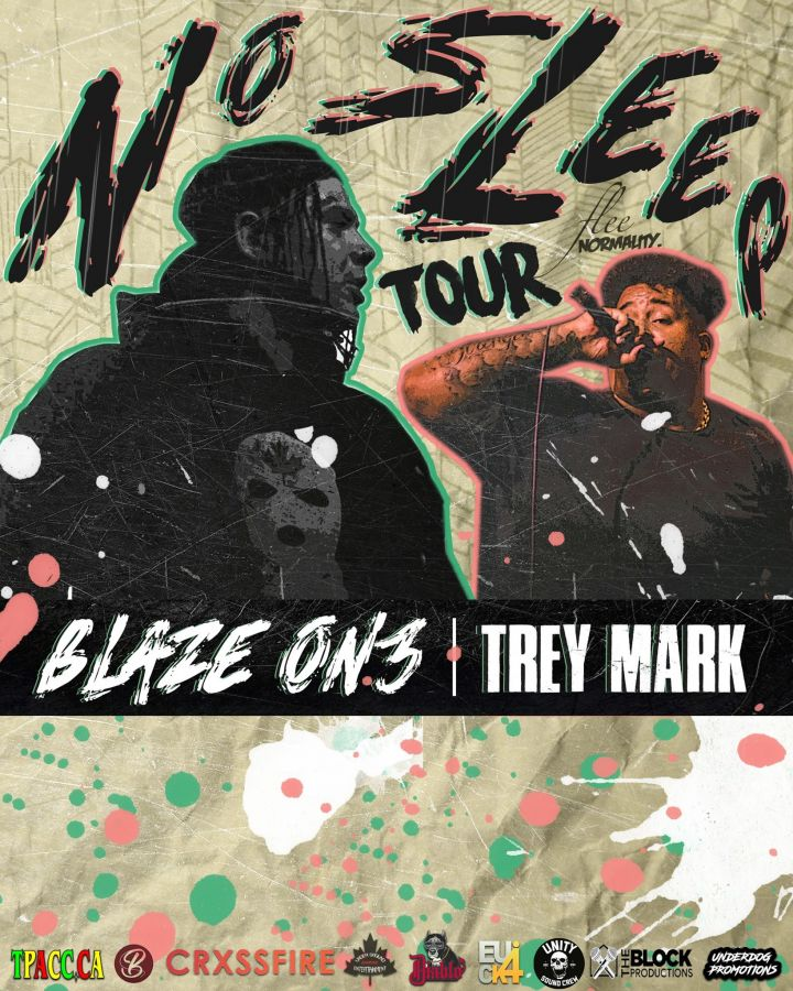 Underground Empyre Presents: Blaze On3 & Trey Mark No Sleep Tour Live In London Ont.