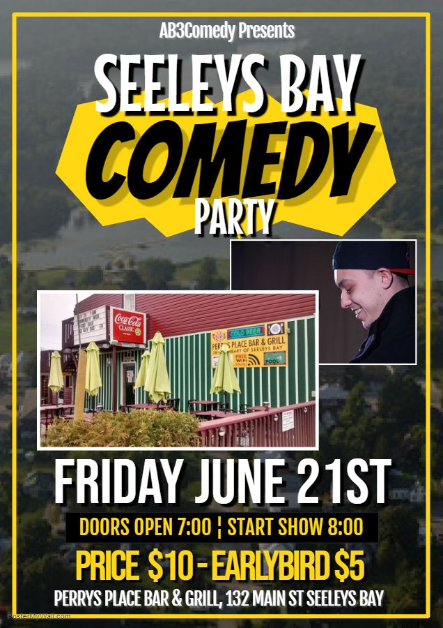 Seeleys Bay Summer Comedy Party
