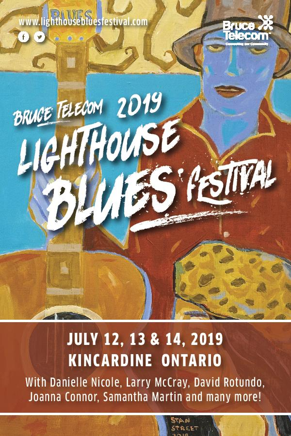 Bruce Telecom Lighthouse Blues Festival (Saturday)
