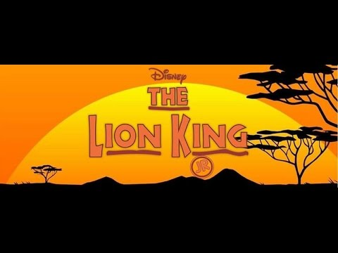 Disney's The Lion King Jr. Opening Night
