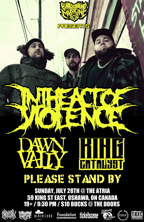IN THE ACT OF VIOLENCE, DAWN VALLY