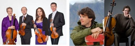 QuartetFest 2019, Concert 3 - Penderecki String Quartet with Leo Erice, piano, and Paul Marleyn, cello