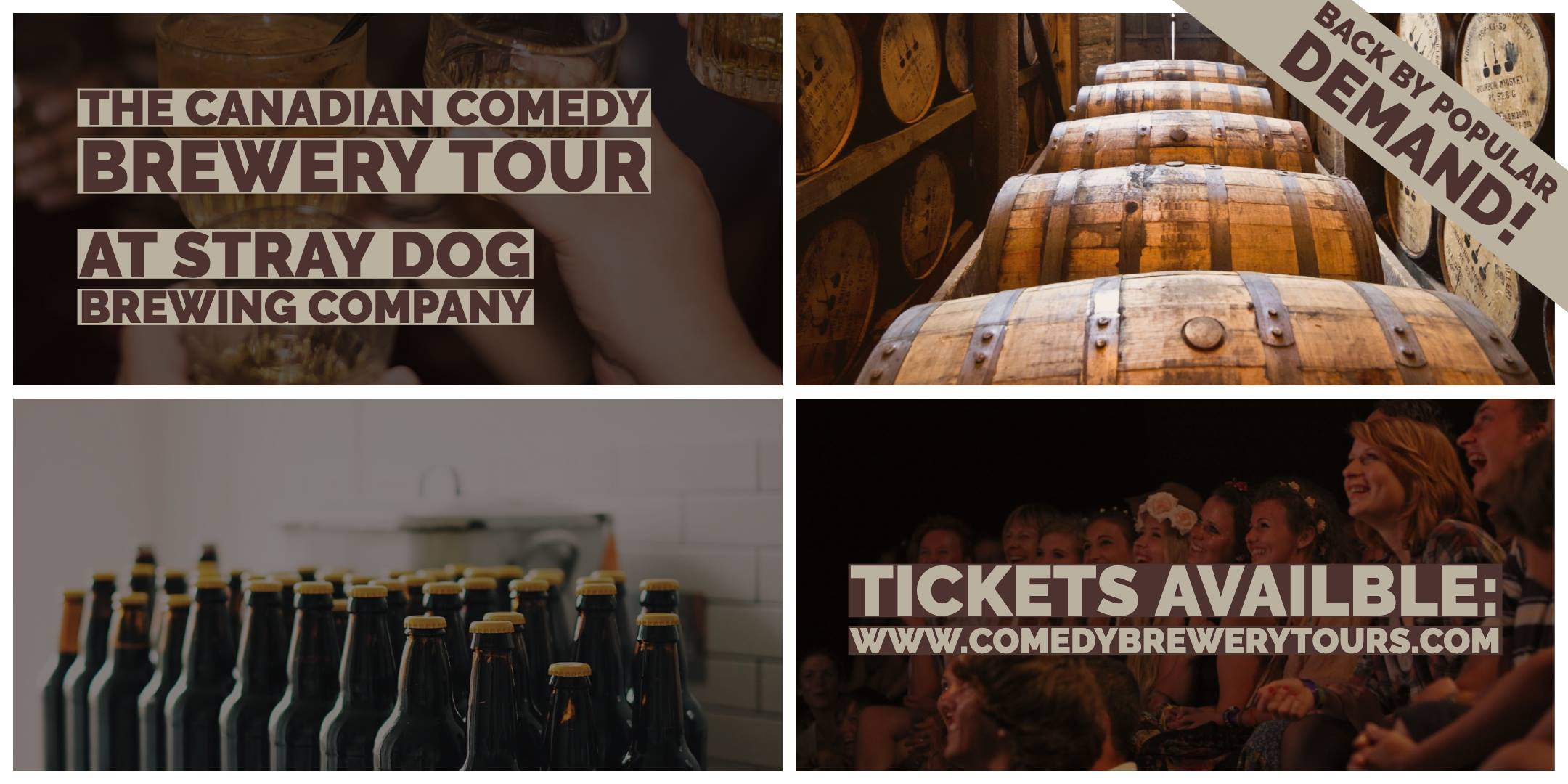 The Canadian Comedy Brewery Tour @ Stray Dog Brewing Company