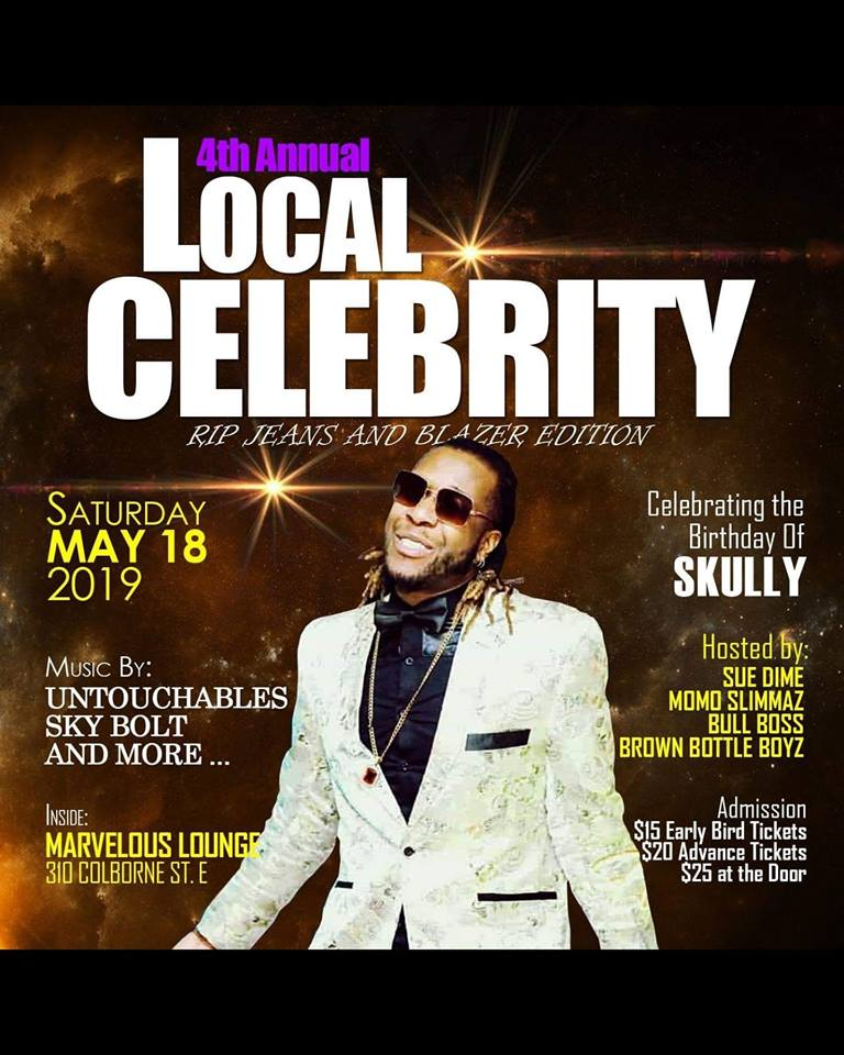 4th Annual Local Celebrity