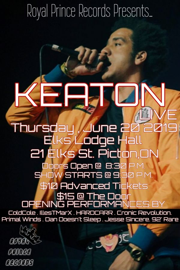 Keaton Live (Picton,ON)
