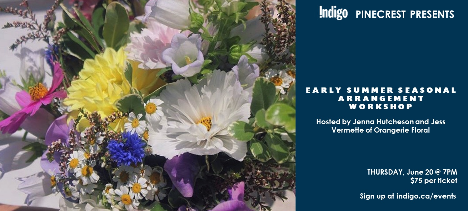 Early Summer Seasonal Arrangement Workshop