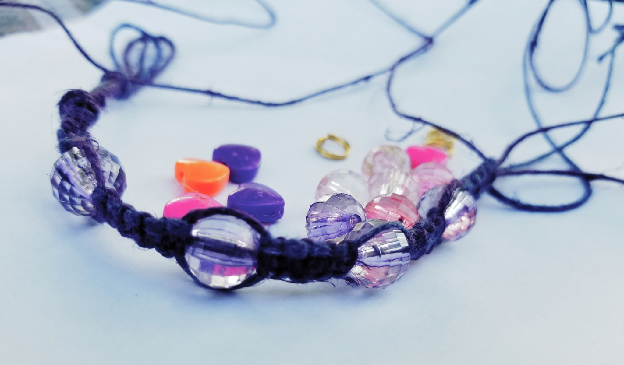 Macrame Bracelet 101 - Hosted by Young Entrepreneur Katia