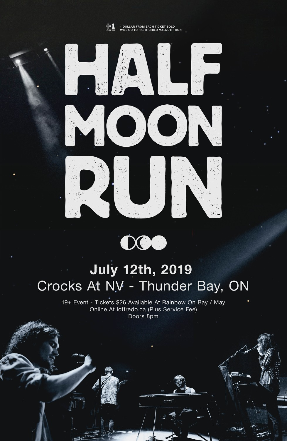 Half Moon Run - In Thunder Bay @ Crocks at NV