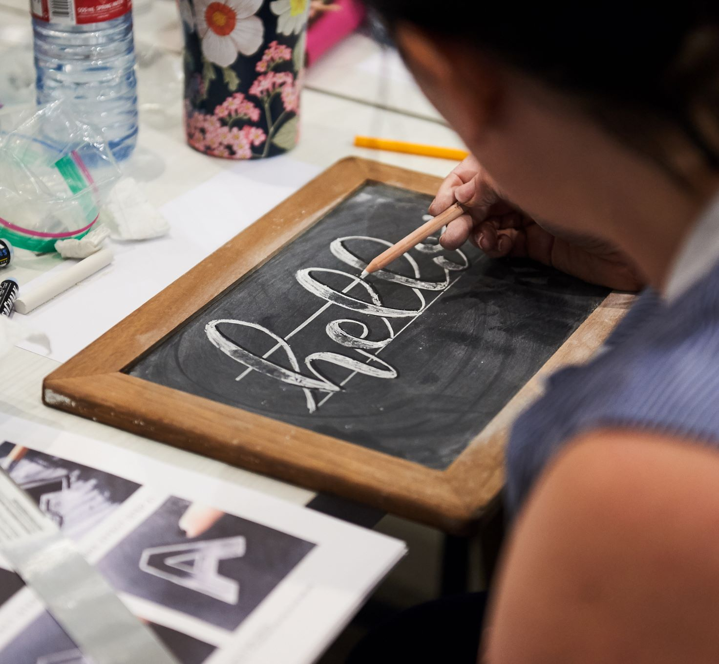 Indigo Presents: Introduction to Chalk Lettering