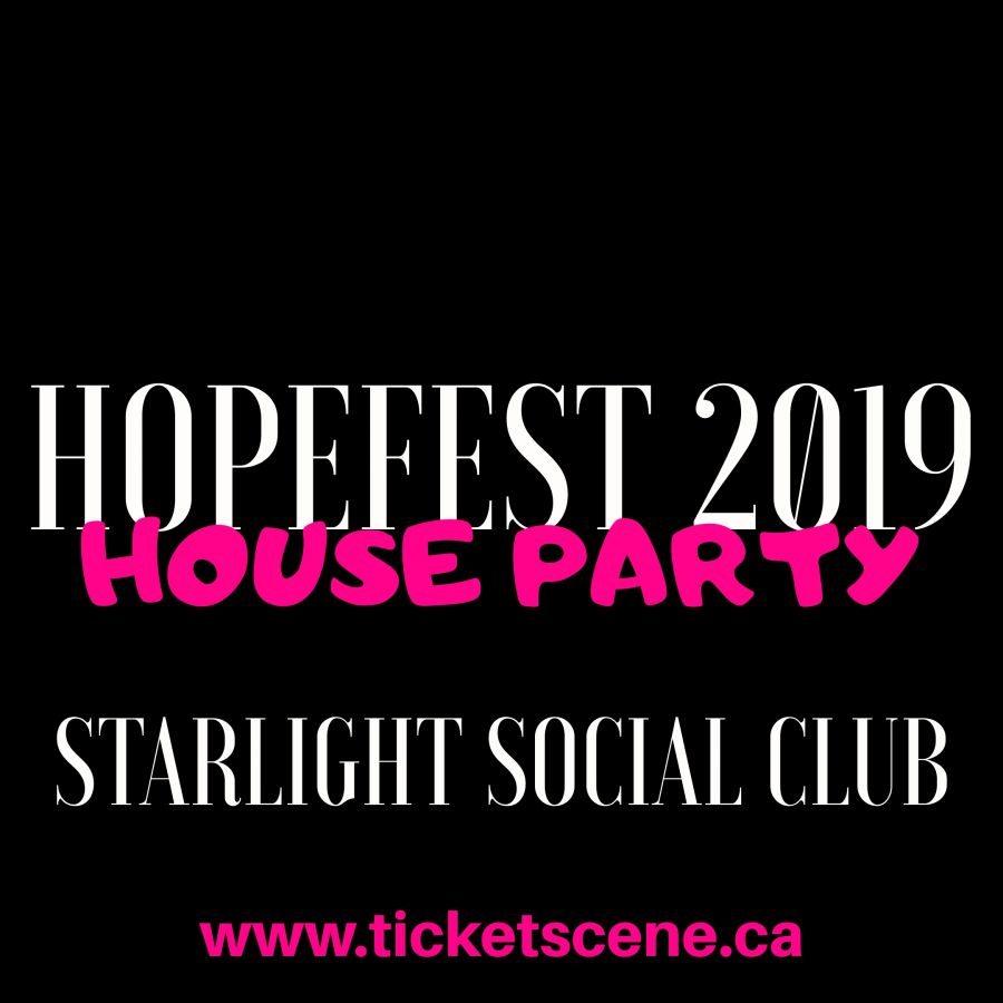 HopeFest 2019 House Party