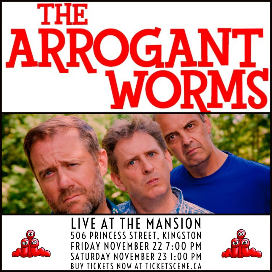 Arrogant Worms in Kingston (afternoon show)