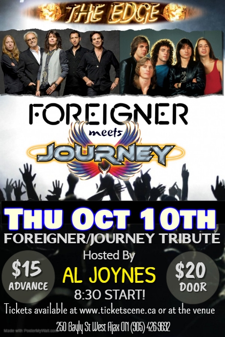 FMJ (Foreigner/Journey Tribute)
