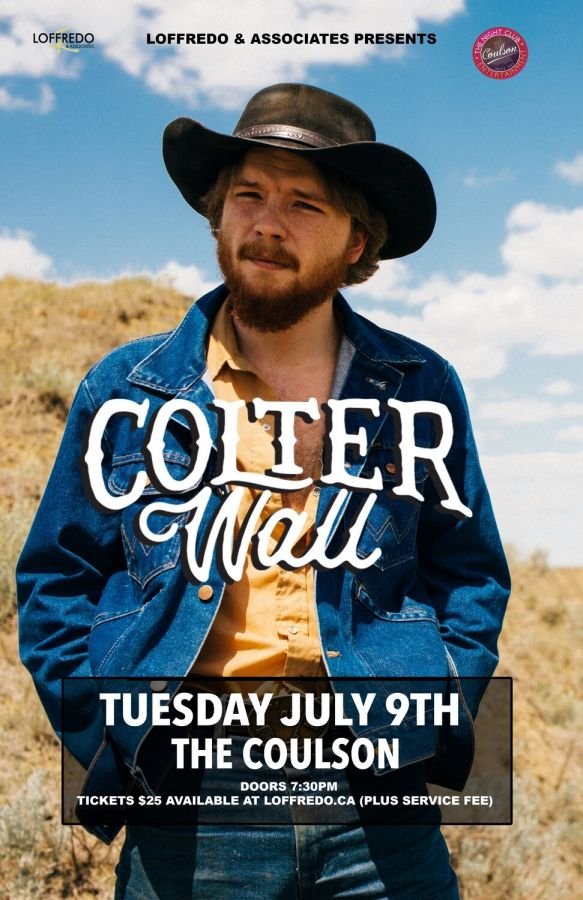 Colter Wall - July 9 - The Coulson