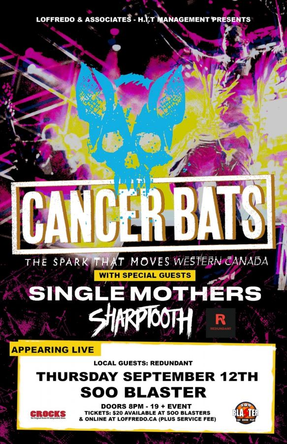 Cancer Bats - Crocks at NV - September 13, 2019