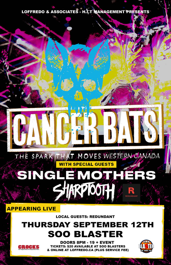 Cancer Bats - Soo Blaster - September 12 2019