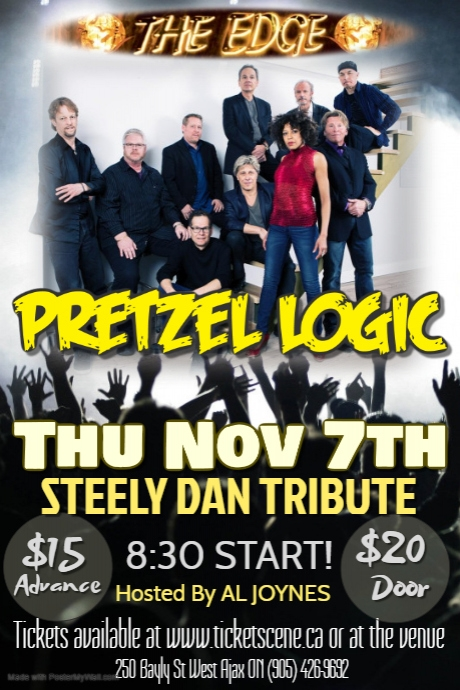 PRETZEL LOGIC (Steely Dan Tribute)